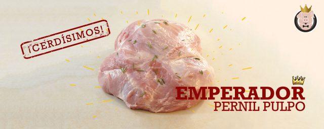 Emperador Pernil pulpo